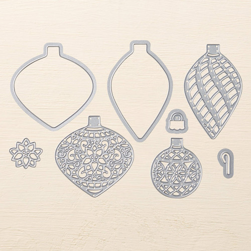 StampinUp Delicate Ornament Thinlits Dies