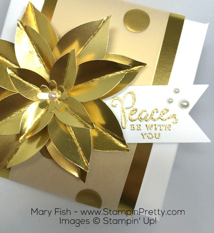 StampinUp Holiday Gift Box Fancy Festive Flower Punch By Mary Fish Stampin Up Demonstrator