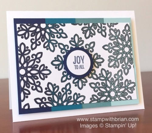 Ideas Flurry of Wishes Mary Fish Stampin Pretty StampinUp