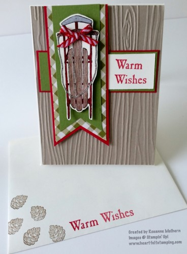 Ideas Wondrous Wreath Mary Fish Stampin Pretty StampinUp