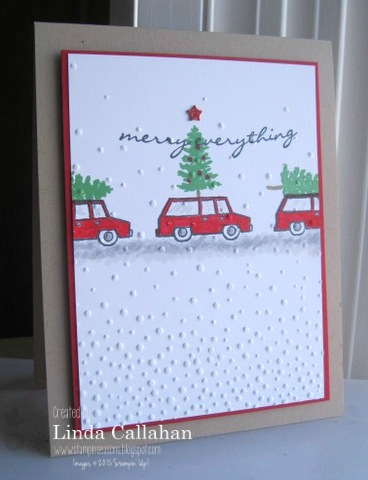 Pals Paper Crafting Card Ideas Christmas Cars Mary Fish Stampin Pretty StampinUp