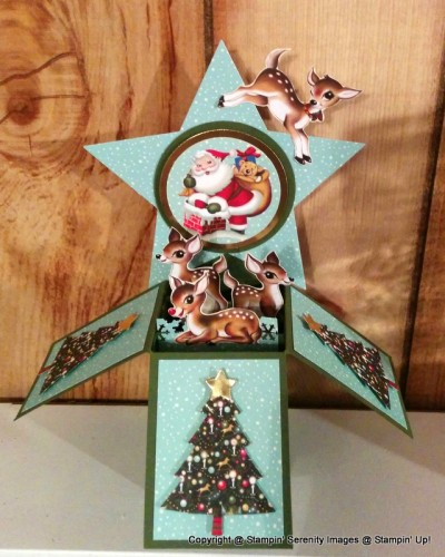 Pals Paper Crafting Card Ideas Home for Christmas Mary Fish Stampin Pretty StampinUp