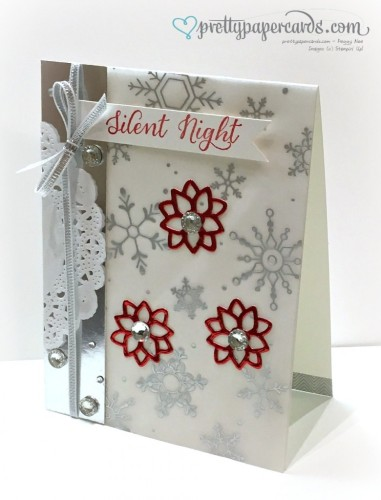 Pals Paper Crafting Card Ideas Silent Night Mary Fish Stampin Pretty StampinUp