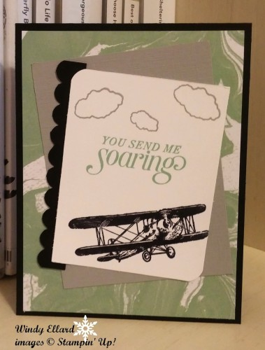 Pals Paper Crafting Card Ideas Sky is the LImit2 Mary Fish Stampin Pretty StampinUp