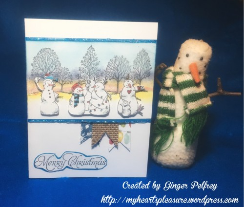 Pals Paper Crafting Card Ideas Snowmen Mary Fish Stampin Pretty StampinUp