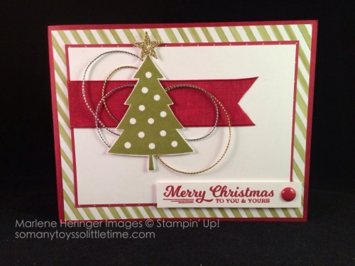 Pals Paper Crafting Card Ideas To You and Yours Mary Fish Stampin Pretty StampinUp