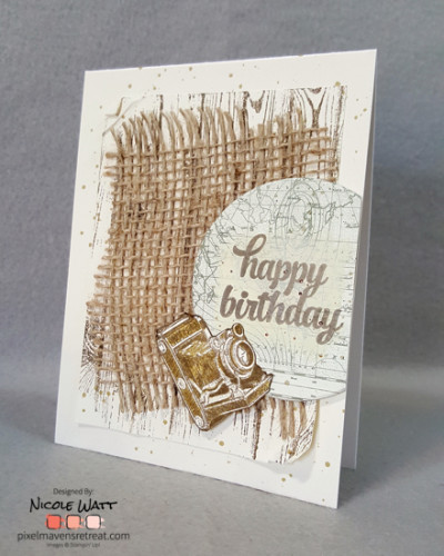 Pals Paper Crafting Card Ideas Traveler Mary Fish Stampin Pretty StampinUp