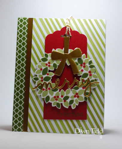 Pals Paper Crafting Card Ideas Wondrous Wreath Mary Fish Stampin Pretty StampinUp