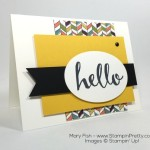 "Say ""Hello"" to Another Stampin' Up! Sneak Peek"
