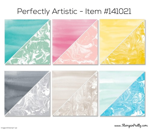 Stampin Up Perfectly Artistic Designer Series Paper