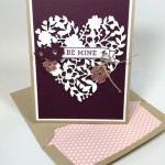 Bloomin' Heart Valentine's Day Card