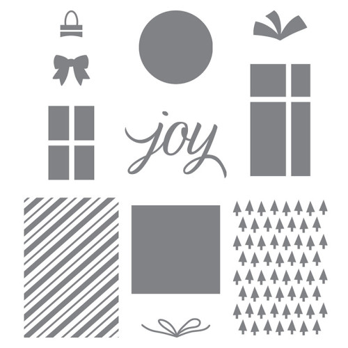 Stampin Up Your Presents Stamp Set Holiday Christmas