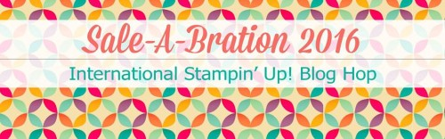 Sale-A-Bration Blog Hop