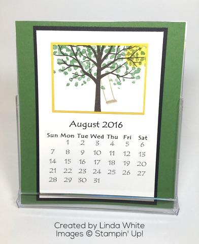 August CD Calendar