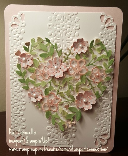 Pals Paper Crafting Card Ideas Bloomin' Heart Mary Fish Stampin Pretty StampinUp