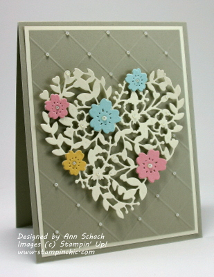 Pals Paper Crafting Card Ideas Bloomin Heart Mary Fish Stampin Pretty StampinUp