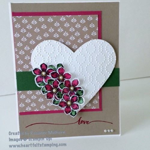 Pals Paper Crafting Card Ideas Bloomin' Love Mary Fish Stampin Pretty StampinUp