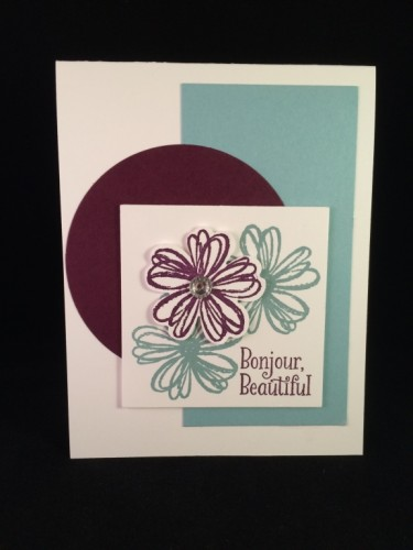 Pals Paper Crafting Card Ideas Flower Shop Mary Fish Stampin Pretty StampinUp