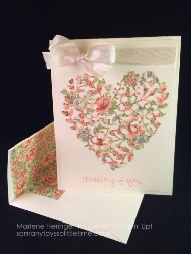 Pals Paper Crafting Card Ideas Heart Mary Fish Stampin Pretty