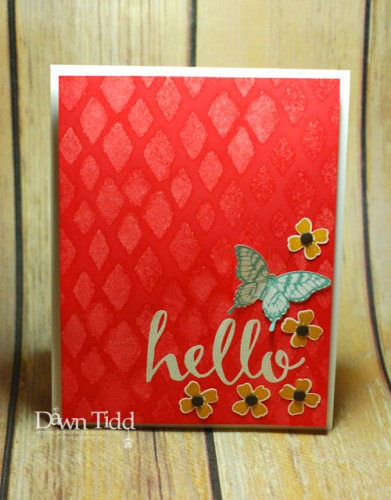 Pals Paper Crafting Card Ideas Hello Mary Fish Stampin Pretty StampinUp
