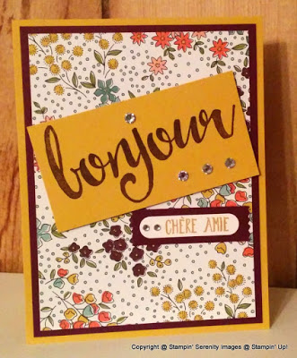 Pals Paper Crafting Card Ideas Salut Mary Fish Stampin Pretty StampinUp