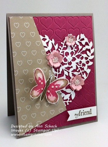 Pals Paper Crafting Card Ideas Watercolor Wings Mary Fish Stampin Pretty StampinUp