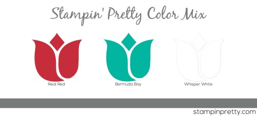 SP Color Mix Red Bermuda White