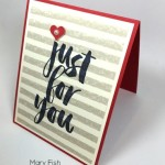 Simple Saturday Valentine Card