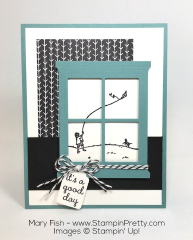 Stampin Up Happy Home Hearth Thinlits Dies by Mary Fish Mojo Monday
