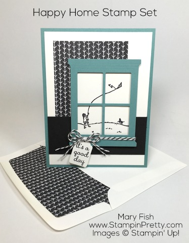 Stampin Up Happy Home Hearth Thinlits Dies by Mary Fish Pinterest