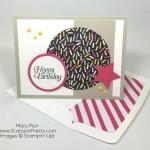A Happy Birthday Card on Mojo Monday!