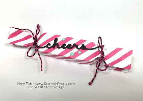 Stampin Up! Poppers Envelope Punch Board By Mary Fish