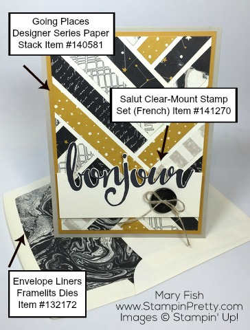 Stampin-Up-Salut-Bonjour-Card-Idea-by-Mary-Fish-Lined-Envelope