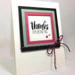 Suite Sayings Thank You Card