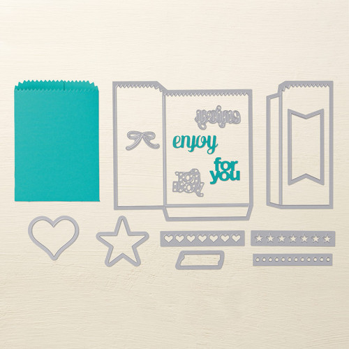 Stampin Up Mini Treat Bag Thinlits Dies