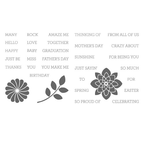 Crazy About You Clear-Mount #138859 Images © Stampin' Up!