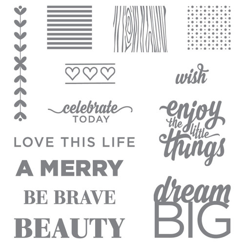 Stampin Up Enjoy the Little Things