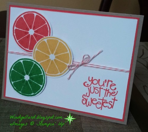 Pals Paper Crafting Card Ideas Apple of My Eye Mary Fish Stampin Pretty StampinUp