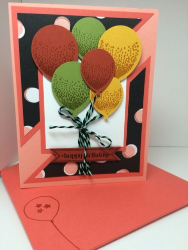 Pals Paper Crafting Card Ideas Balloon Bunch Mary Fish Stampin Pretty