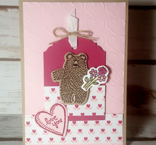Pals Paper Crafting Card Ideas Bear Hugs Mary Fish Stampin Pretty StampinUp