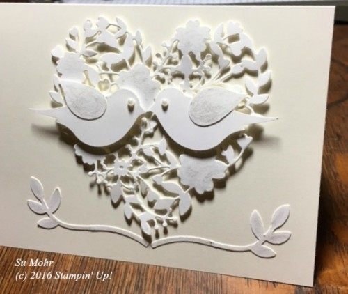 Pals Paper Crafting Card Ideas Bird Punch Mary Fish Stampin Pretty StampinUp
