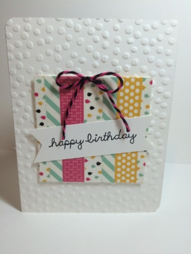 Pals Paper Crafting Card Ideas Birthday Mary Fish Stampin Pretty StampinUp