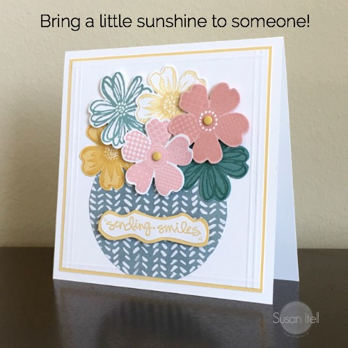 Pals Paper Crafting Card Ideas Flower Ship Mary Fish Stampin Pretty StampinUp