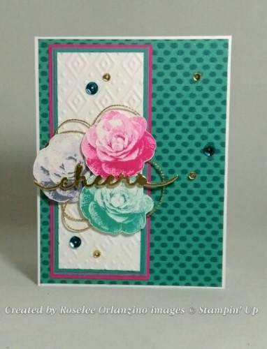Pals Paper Crafting Card Ideas Garden Mary Fish Stampin Pretty StampinUp