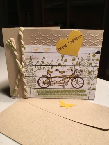 Pals Paper Crafting Card Ideas Happy Together Mary Fish Stampin Pretty StampinUp