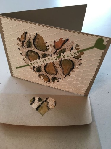 Pals Paper Crafting Card Ideas Perfect Pair Mary Fish Stampin Pretty