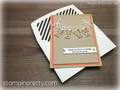 Stampin Up Bear Hugs Fish Card - Mary Fish - Shop for StampinUp