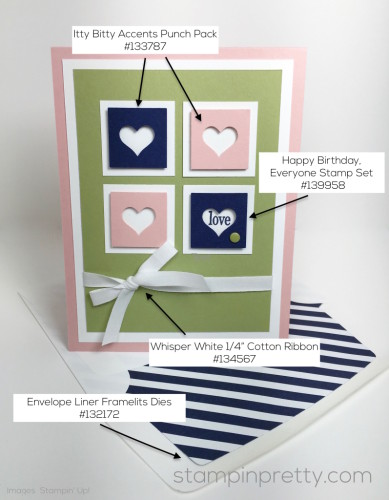 Stampin Up Love Card Ideas - Mary Fish StampinUp