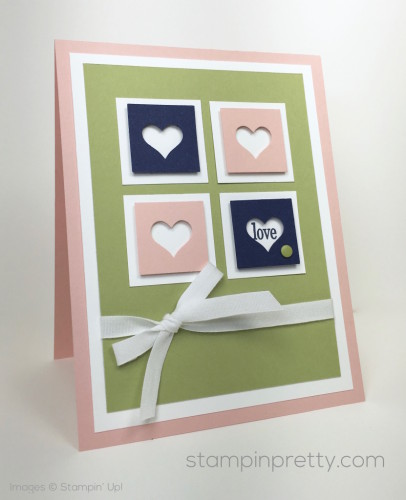Stampin Up Love Card - Mary Fish StampinUp