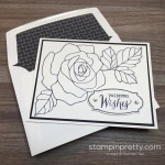 Simple Rose Wonder Wedding Card